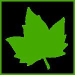 Le logo de JM Desclos paysagiste a ouistreham riva bella La feuille d'érable