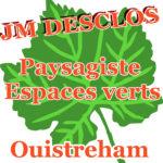 Logo de Jean Marie Déclos, paysagiste à ouistreham, représenté par une feuille d'érable