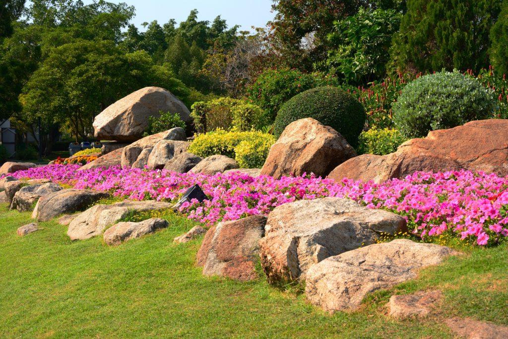 Un beau jardin Jm Desclos entretien espaces verts Ouistreham